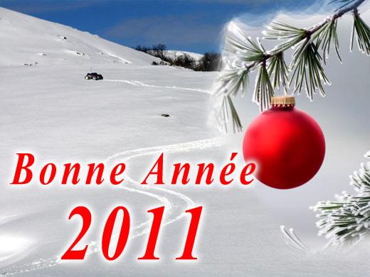 Bonne année Voeux-2011